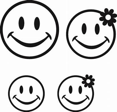 Happy Smiley Coloring Face Pages Printable Sad