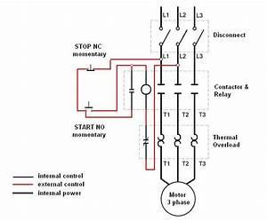 Single Phase Motor    3 Phase Starter