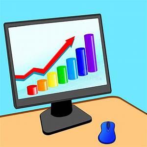 Modern Computer Wich Business Diagram Stock Vector