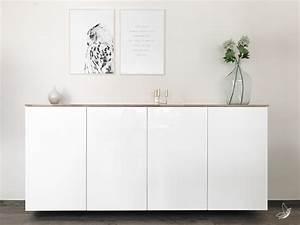 Ikea Küchenschränke Weiß : ikea hack metod k chenschrank als sideboard elfenweiss ~ Eleganceandgraceweddings.com Haus und Dekorationen