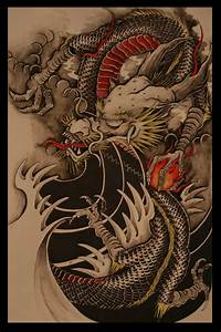 Chinese Dragon colour version by brokenpuppet86 on DeviantArt