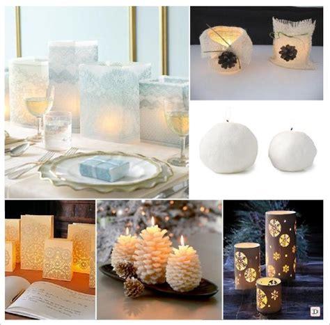 deco de mariage chetre mariage hiver decoration table centre de table bougie lanternes oui je le veux