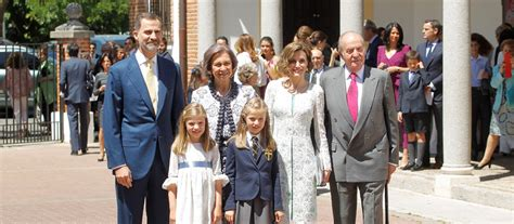 Großer Tag für kleine Prinzessin - Infantin von Spanien