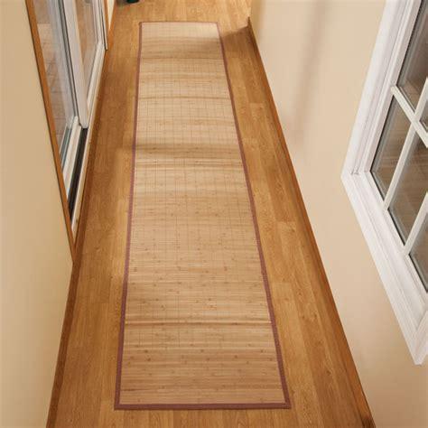 Bamboo Floor Mat  Bamboo Runner  Large Bamboo Mat
