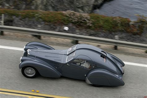 It was the second atlantic coupe built, destined to become the company's brochure, display. 1936 Bugatti Type 57SC Atlantic Information | Supercars.net