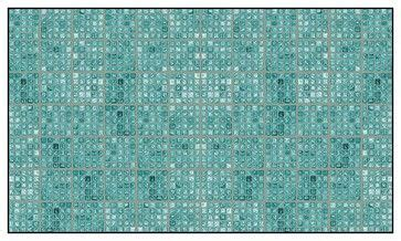 faux glass tile tealgray peel  stick wallcoverings