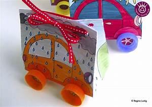 Auto Achterbahn Für Kinder : geschenkpackung auto ausmalbogen und anleitung basteln ~ Jslefanu.com Haus und Dekorationen