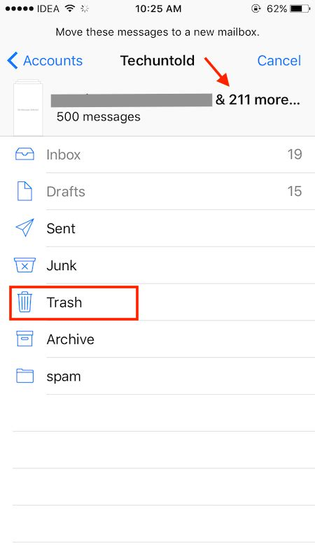 delete all emails on iphone how to delete all emails on iphone at once techuntold