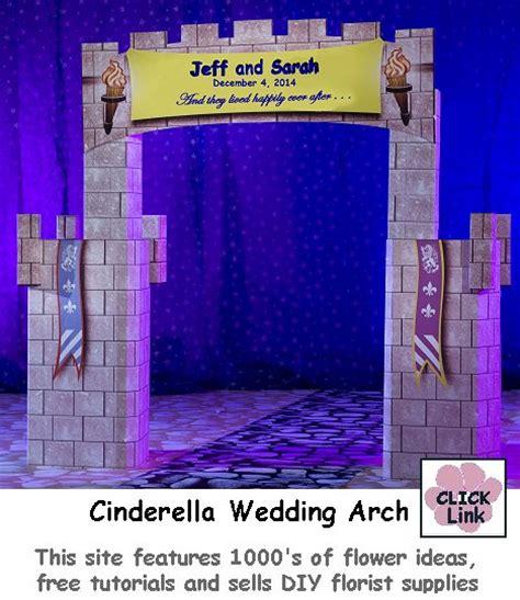cinderella wedding arch fairy tale theme weddings