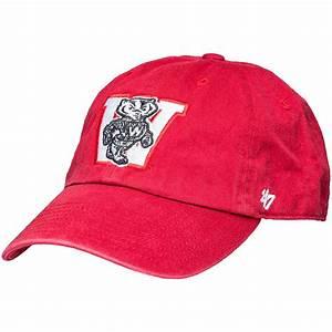'47 Brand Vault Bucky Badger Adjustable Hat (Red ...