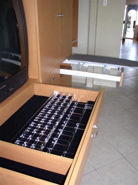 jewelry tray  ironing board traditional closet