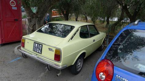 RRonTV FIAT 128 SL Sport Coupe 1973 very rare model - YouTube