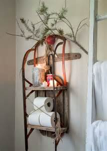 rustic bathroom ideas 33 creative and sleigh décor ideas for