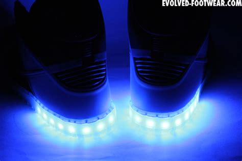 light up shoes turn off nike dunk high hyperfuse id light up customs by evolved