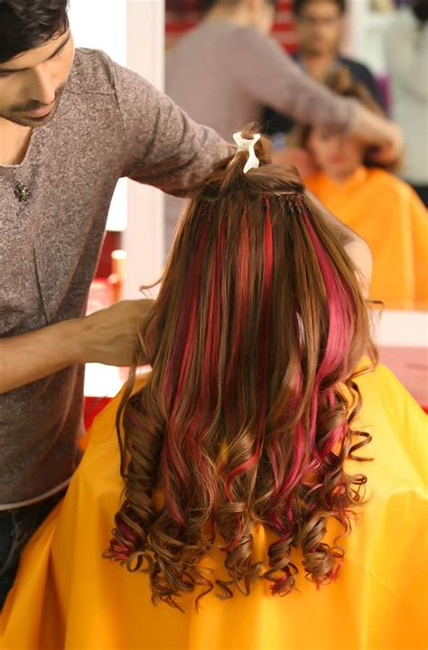 kashees artist beauty parlor permanent hair extensions
