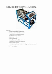 Toyota 7k Efi Engine Repair Manual