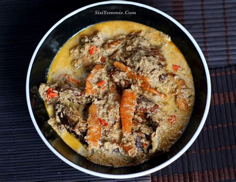 Fry for about 10 minutes, stirring occasionally so that the egusi won't burn at the bottom of the pot. EGUSI PEPPERSOUP RECIPE (OIL-LESS EGUSI SOUP) | Food ...