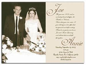 http wwwterserahnet wp content uploads 50th wedding With samples of wedding anniversary invitations