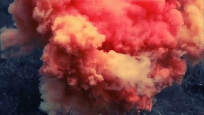 Smoke Colored Bomb Pink Powder Holi Pastel