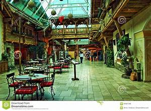 Alpine Roadside Restaurant Interior Austria Editorial Stock Photo - Image of cafe, anton: 94087398