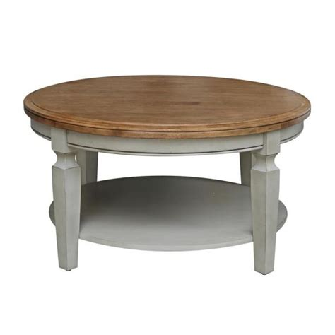 Solid marble coffee table, model aeneas with inlaid angular pattern in oxidized brass. International Concepts Vista Hickory and Stone Round Solid Wood Coffee Table-OT41-15CR - The ...