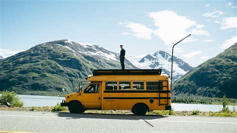 rowdy bus  north alaska road trip youtube