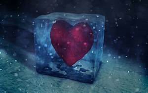 Pin Heart Melting Ice Wallpapers Backgrounds on Pinterest