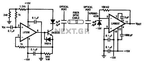 Sens Detectors Optical Fiber Optic Link Next