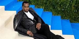 Diddy Explains Why He Laid on the Met Gala Stairs! | 2017 ...