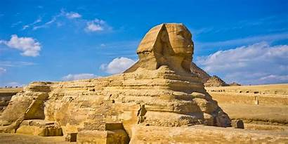 Egypt Sphinx Giza Under Side Wallpapers Places