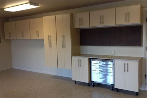 Free Standing And Wall Mounted Garage Cabinet  Home Interiors