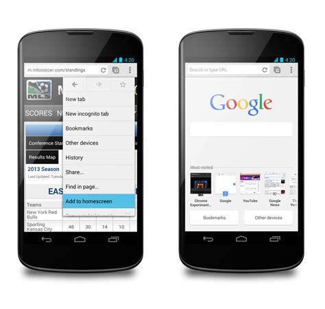 chrome  android updated  improved autofill