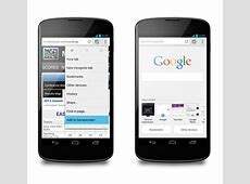 Chrome for Android updated with improved autofill