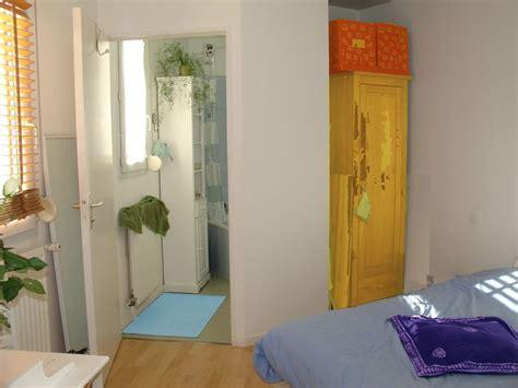 chambre en enfilade chambre avec salle de bain en enfilade photo de t1 bis