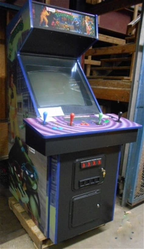 best arcade cabinets for home teenage mutant ninja turtles upright arcade machine game