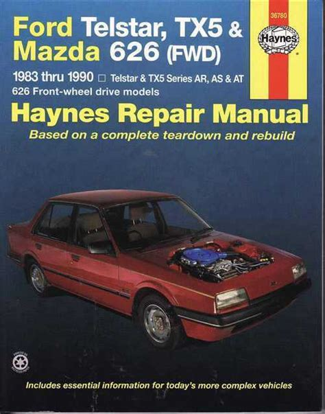 old cars and repair manuals free 1987 mazda b series auto manual ford telstar tx5 mazda 626 1987 1992 gregorys service repair manual sagin workshop car manuals