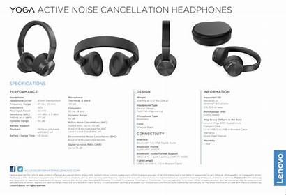 Noise Cancellation Yoga Lenovo Headphones Active Hour