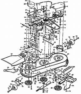 Murray Mower Deck Parts