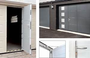 les portes de garage avec rainures de la toulousaine With porte garage la toulousaine