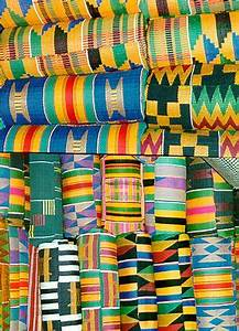 Ghana Kente cloth importance origin color meaning