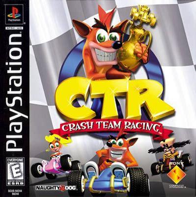 ctr crash team racing information crash mania