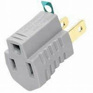 New Lot Of  10  Cooper 419gy Gray Outlet 2 Wire Grounding
