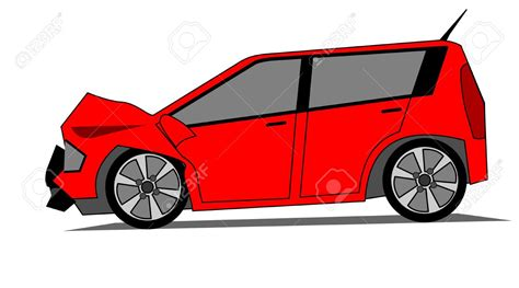 Real Wrecked Car Clipart