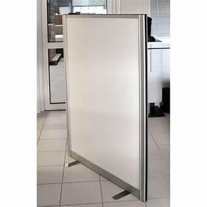 Cloison De Séparation Amovible : cloison cadre alu blanc 140 vente directe ~ Melissatoandfro.com Idées de Décoration