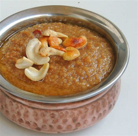 cuisine milet barnyard millet pongal recipe kuthiraivali sakkarai