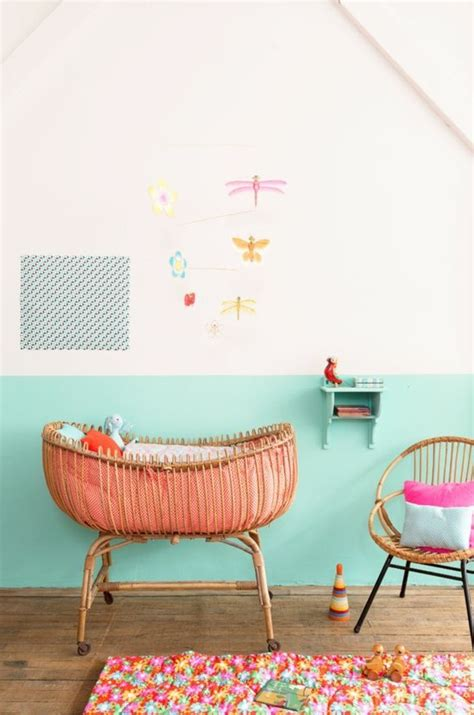 peindre une chambre avec deux couleurs peindre une chambre en deux couleurs comment peindre une
