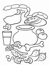 Soup Stone Coloring Pages Activities Preschool Crafts Printable Kindergarten Arts Sopa Strega Nona Story Printables Craft Sketchite Worksheets Worksheet Sketch sketch template