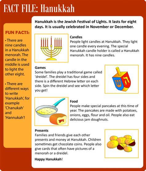 hanukkah learnenglish kids british council