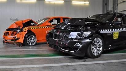 Bmw Crash Test Series Intervention Brake Emergency