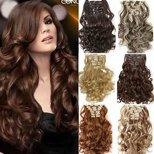 New Star Hair 7pcsset Clip In Hair Extension Curly
